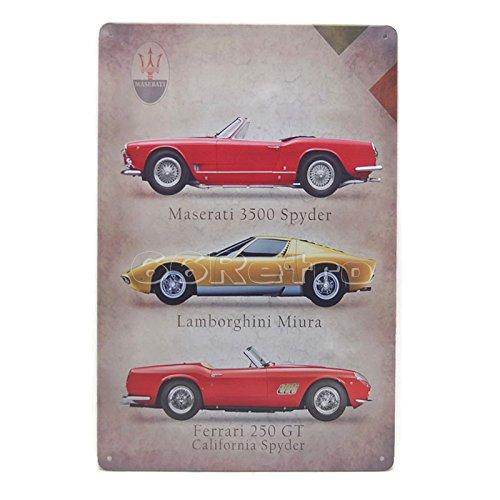 maserati-cars-vintage-tin-sign-20cm-x-30cm-wall-decorative-sign-by-66retro
