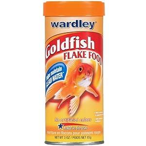 Wardley Goldfish Flake Food, 3-oz Canister