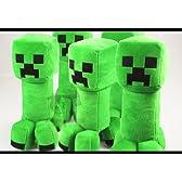 好評販売コスプレ小道具/小物♪Minecraft(マインクラフト)クリーパー(Creeper)ぬいぐるみ 人形 30cm 5点 コスチューム