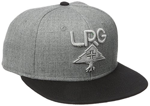 LRG Men's Research Collection Snap Back, Ash Heather, One Size (Lrg Panel Hat compare prices)