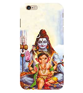 Fiobs Loard Shiva Ganesh Gi Phone Back Case Cover for Apple iPhone 6s Plus
