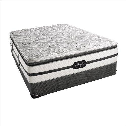 Simmons Beautyrest Black Evie Plush Pillow Top Mattress King front-1008826