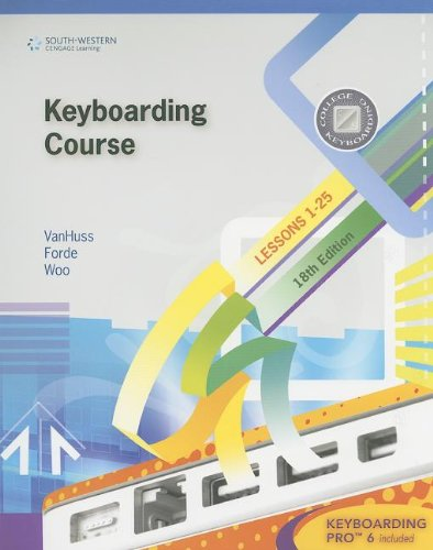 Keyboarding Course, Lesson 1-25 [With CDROM] (College...