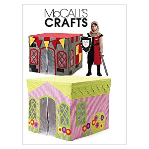 McCall's Patterns M6369 Children's Playhouse, One Size Only