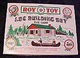 Roy Toy Log Building Set No. 3 The Camp