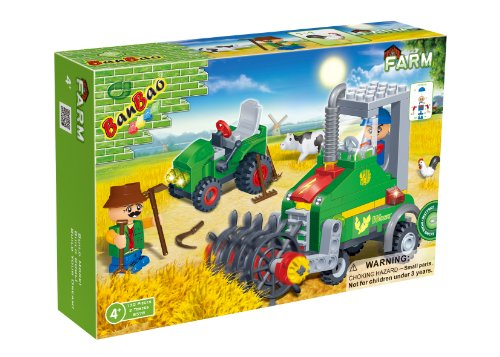 BanBao Mini Harvester Toy Building Set, 130-Piece