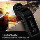 FM-Transmitter-Esonstyle-drahtlose-Bluetooth-In-Car-FM-Transmitter-mit-USB-Car-Charger-Freisprechen-TF-Audio-Line-Lautstrke-fr-iPhone-Samsung-alle-Smartphone-Audio-Player-Schwarz