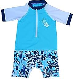 Fedjoa - One Piece UV Sunsuit Baby Boy UPF 50+ - KARABANE 6/12M 6-8 kg