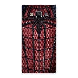 Premium Premier Web Wear Multicolor Back Case Cover for Samsung Galaxy A5