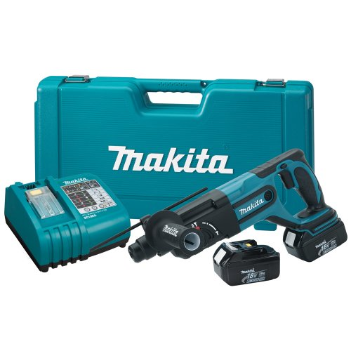 Makita BHR240 18-Volt 7/8-Inch LXT Lithium-Ion Cordless SDS-Plus Rotary Hammer Kit
