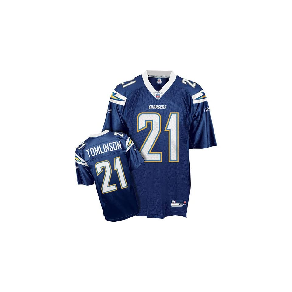 LaDainian Tomlinson #21 San Diego Chargers NFL Replica Player Jersey (Team Color)