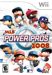 MLB Power Pros 2008 - Nintendo Wii by 2K