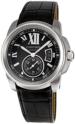 Cartier Men's W7100014 Calibre de Cartier Steel Automatic Watch by Cornerwind Media