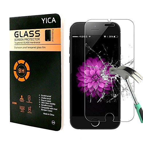 """iPhone 7 Plus Schutzfolie, Yica 3D Touch kompatibel Gehärtetem Glas Panzerglas Displayschutzfolie Folie für iPhone 7 Plus 5.5"""" [Easy Install Kit][Antikratz Ultra Clear]"""