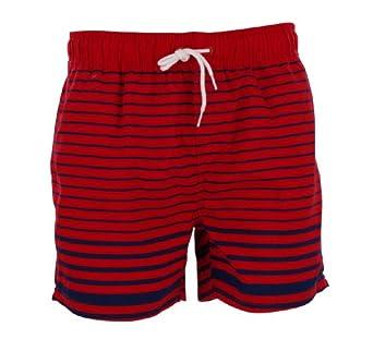 Tokyo Laundry Men's Makana Swim Short Fire Brick Red M