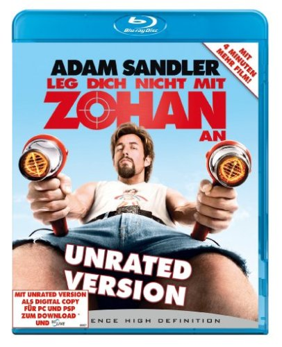 Leg dich nicht mit Zohan an - Unrated (+ DigitalCopy-DVD) [Blu-ray]