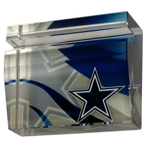 NFL Dallas Cowboys Crystal Business Cardholder at Amazon.com