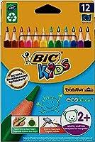 Bic Kids Evolution Triangle Crayon triangulaire 10+2 Gratuits
