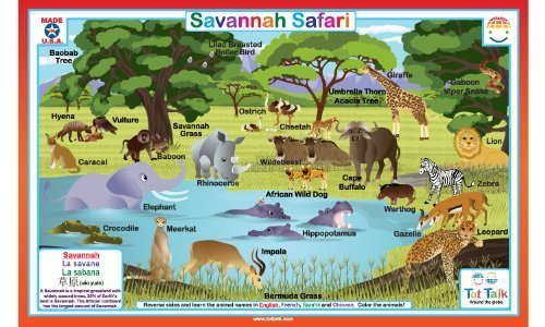 Savannah Safari Placemat - 1