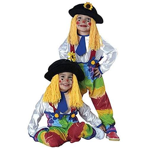 Colorful Clown Kids Costume