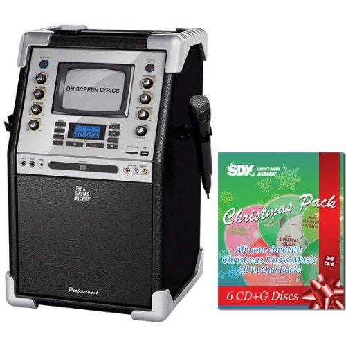 Christmas Karaoke Cd.Singing Machine Smg 903 Cd G 5 5 Monitor Karaoke System
