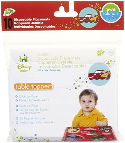 Neat Solutions Eco Table Topper - Disney Cars - 10 ct - 1