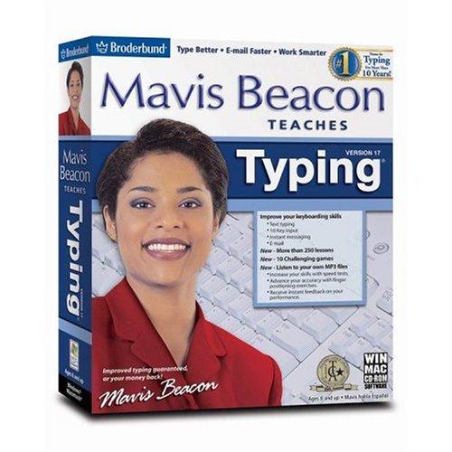 Mavis Beacon Teaches Typing 17 Standard (FCN) English/French