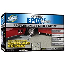Rust-Oleum 203373 Professional Floor Coating Kit, Silver Gray