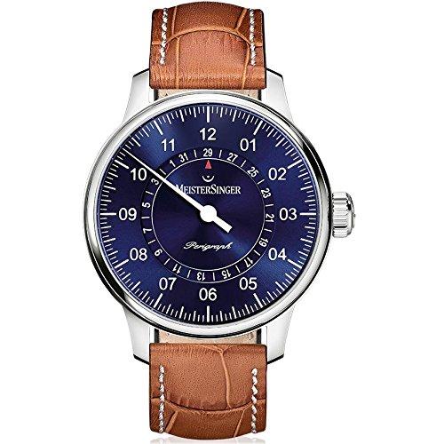 MeisterSinger Perigraph AM1008 Reloj Automático para hombres Diseño Clásico