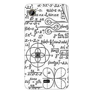 Garmor Designer Mobile Skin Sticker For Intex Aqua Power Plus - Mobile Sticker