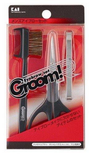 GroomR メンズアイブローセット