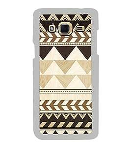 Brown Pattern 2D Hard Polycarbonate Designer Back Case Cover for Samsung Galaxy J3 2016 :: Samsung Galaxy J3 2016 Duos :: Samsung Galaxy J3 2016 J320F J320A J320P J3109 J320M J320Y