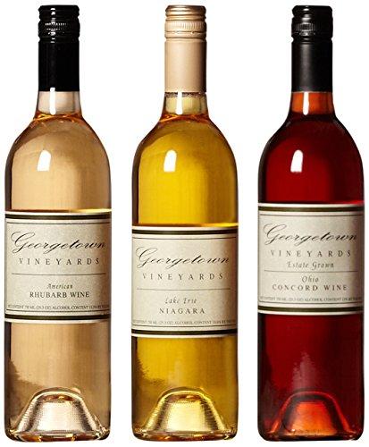Georgetown Vineyards Taste Of Ohio Mixed Pack, 3 X 750 Ml