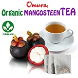 OMURA NATURAL MANGOSTEEN Peel Herbal Tea, the richest nutrient and antioxidant fruits (Pack of 25)