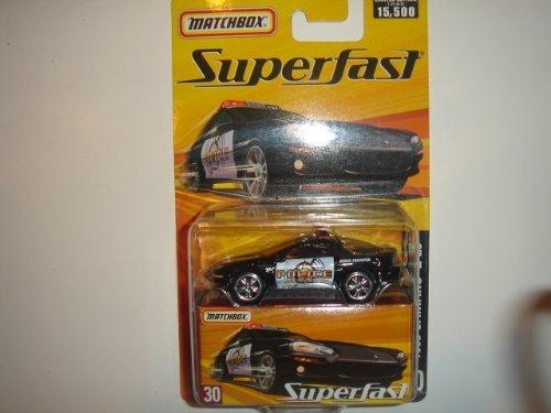 2005 Matchbox Superfast 1993 Camaro Z-28 Black/White #30