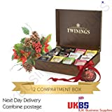 Twinings 12 Compartment Display Box & 1000 Twinings Everyday Sachets (Multi Pack Offer)