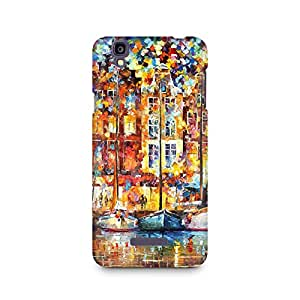 Mobicture Coloured Pattern Premium Printed Case For Micromax YU Yureka A05510