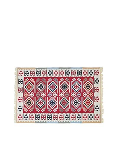 Tapis a Porter Teppich Doubleface Sultan rot/elfenbein/mehrfarbig 200 x 300 cm