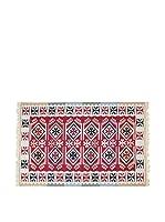 Tapis a Porter Alfombra Doubleface Sultan Rojo/Marfil/Multicolor 200 x 300 cm