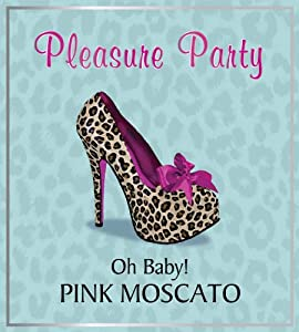 Pleasure Party NV Pink Moscato Rose 750 mL
