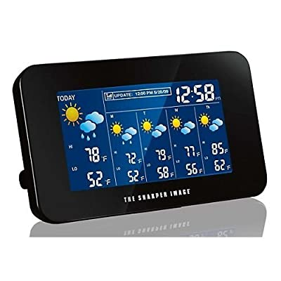 The Sharper Image EC-WS115 Internet Weather Station Wireless Weather Forecaster from The Sharper Image