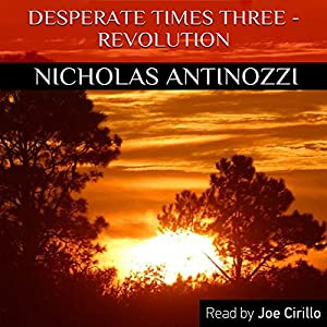 Desperate Times Three - Revolution Audiobook