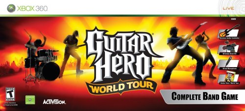 Guitar hero: world tour's 86-track song list fully revealed.