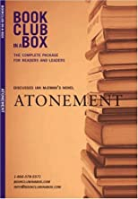 Bookclub-In-A-Box Discusses Atonement by Ian McEwan