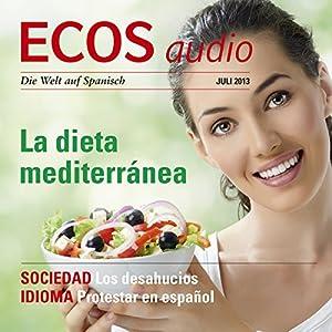 ECOS audio - La dieta mediterránea. 7/2013 Hörbuch
