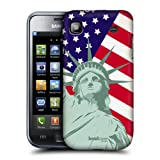 Head Case Designs Liberty American Pride Hard Back Case Cover for Samsung Galaxy S I9000 I9001