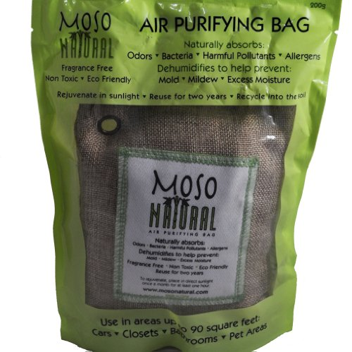 200 Gram Moso Natural Air Purifying Bag, Natural Color