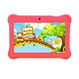 """Tagital® 7"""" T7K Quad Core Android Kids Tablet, with Wifi and Camera and Games, HD Kids Edition w/Zoodles Pre-Installed Pink video review"""
