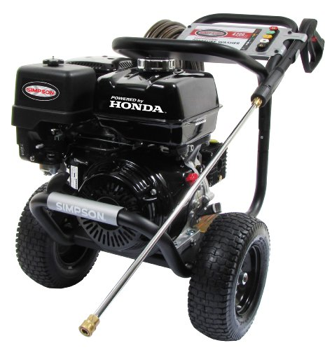 SIMPSON Cleaning PS4240H 4200 PSI at 4 GPM Gas Pressure Washer Powered by HONDA with AAA Triplex Pump (Honda Commercial Pressure Washer compare prices)