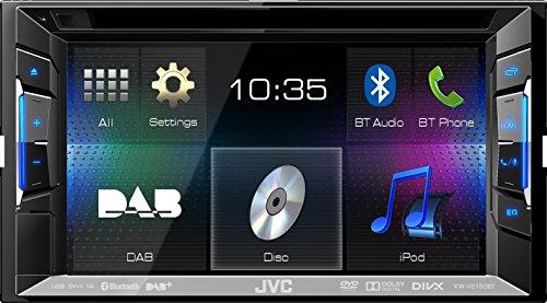 JVC-KW-V215DBTE-Multimedia-Receiver-DVD-CD-USB-DAB-Bluetooth-schwarz